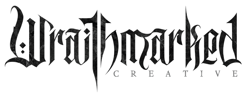 Wraithmarked Creative Logo in Black