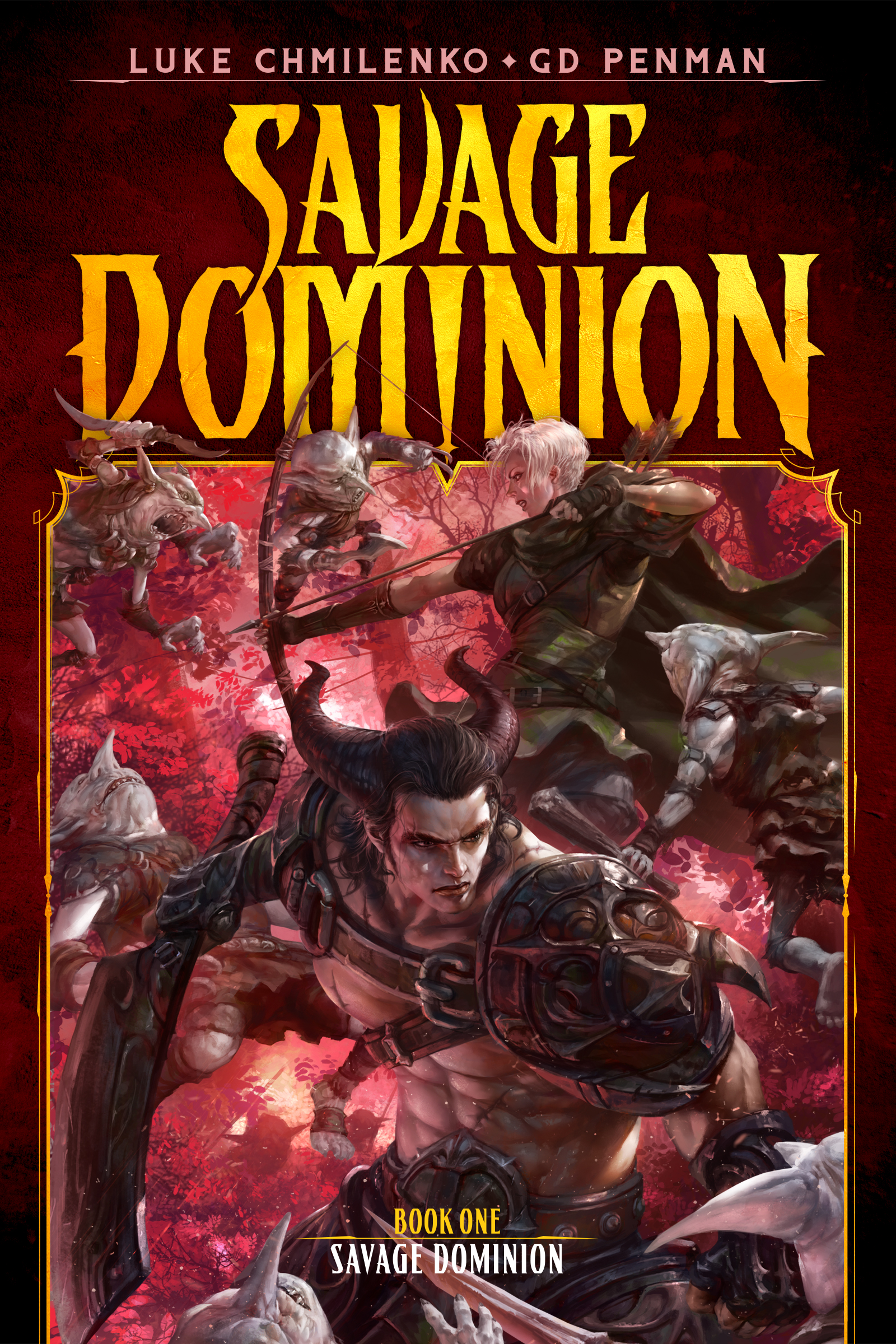 Savage Dominion Book Cover